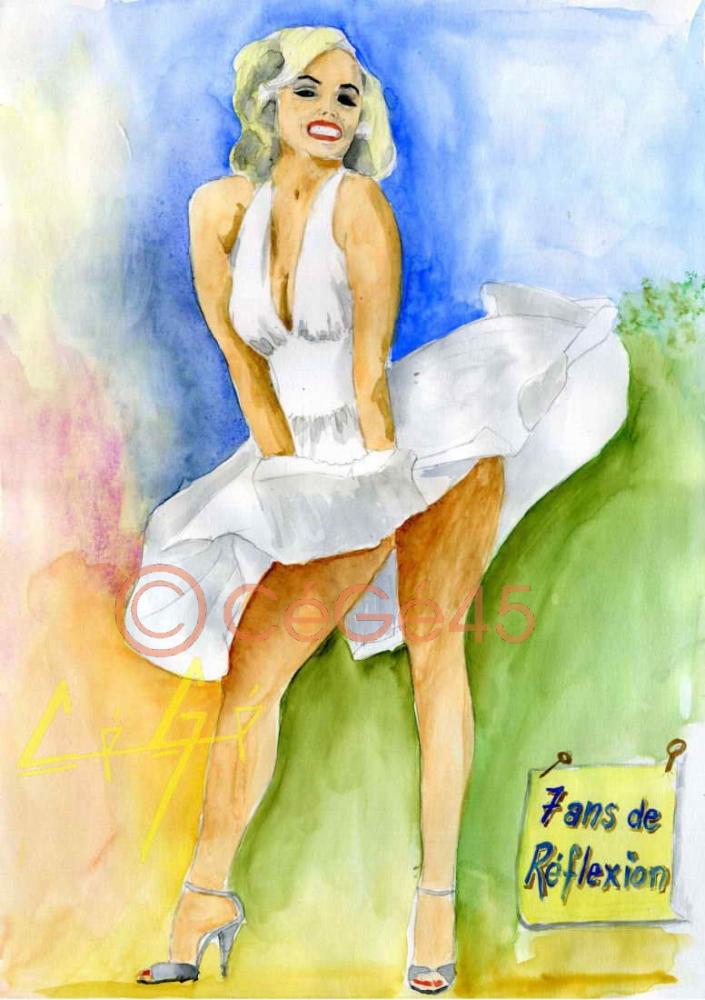 Marilyn Monroe by CeGe
